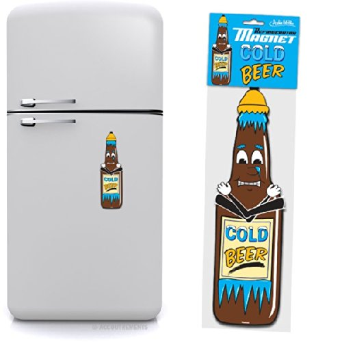 Cold Beer Jumbo Refrigerator Magnet by Accoutrements