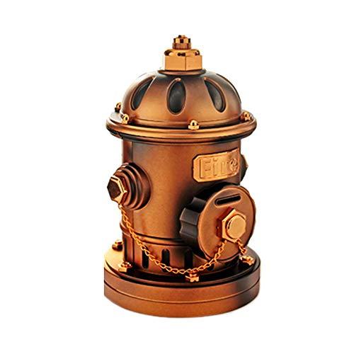 (LEYIJU Retro Decorative Ornaments, Hydrant Shape Piggy Bank boy Birthday Present, Size 28.8cm14cm, Bronze)