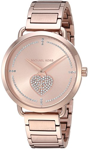 197d60d313d9 Michael Kors Women s Analogue Quartz Watch with Stainless Steel ...