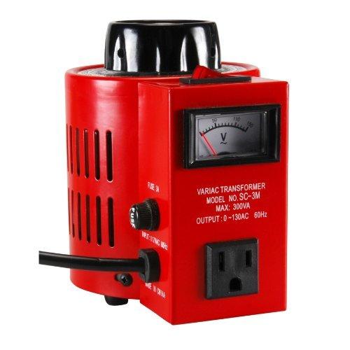 Parts Express 3A Variac Variable AC Power Transformer 0-130 VAC