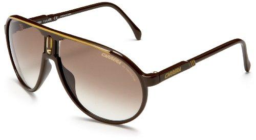 Carrera Champion Aviator Sunglasses,Brown Ochre Frame/Brown Lens,one - Sunglasses Round Lady Gaga