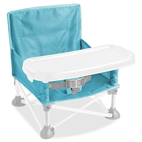 Summer Infant Pop N' Sit Portable Booster Seat in Aqua with