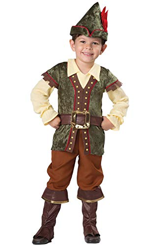 InCharacter Robin Hood Toddler Costume-Medium (4T) Green
