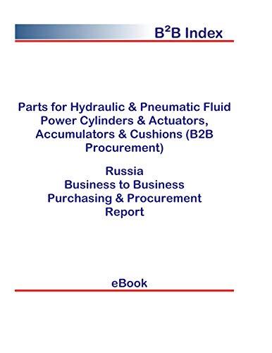 Parts for Hydraulic & Pneumatic Fluid Power Cylinders & Actuators, Accumulators & Cushions (B2B Procurement) in Russia: B2B Purchasing + Procurement Values