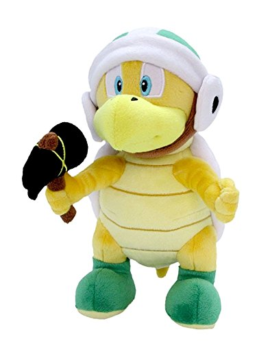 Little Buddy Super Mario All Star Collection 1597 Hammer Bros Stuffed Plush, 8.5