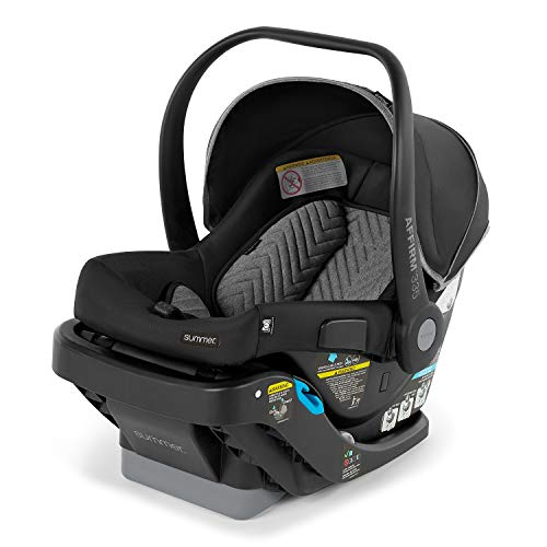 Summer Infant Affirm 335 Rear-Facing Infant Car Seat, Onyx Black