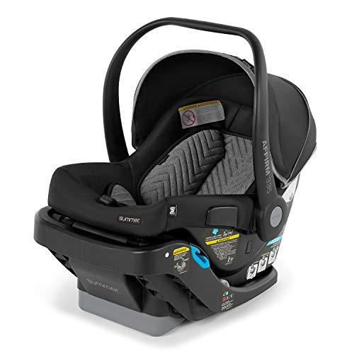 Summer Infant Affirm 335 Rear-Facing Infant Car Seat, Onyx Black