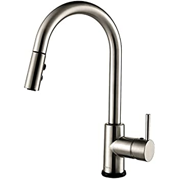 Motion Sensor Kitchen Faucet With Sprayer Polished