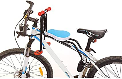 YZCH Child Bike Seat,Bicycle Baby Seat Children Safe Chair Mountain Bike Quick Release Saddle Kids Seat with Armrest Bar Pedal