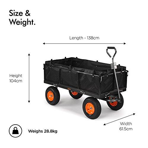 Vonhaus-Chariot-de-Jardin-grillag-avec-paroi-600-kg-remorque-de-Bricolage-ultrarsistante–4-Roues