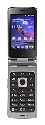 Total Wireless ZTE Android Flip 4G LTE Prepaid Phone
