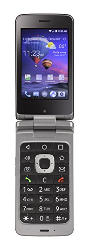 TracFone ZTE Android Flip 4G LTE Prepaid Phone by TracFone