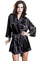 iCollection Women's Satin Robe