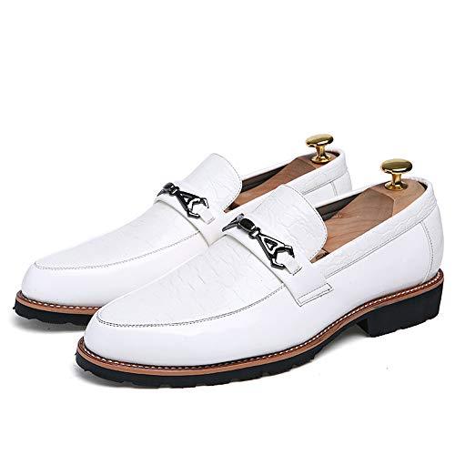 2018 uomo uomo da Bianca uomo Dimensione da da EU punta Scarpe Scarpe da Color Jiuyue donna da Bianca Pelle Uomo 38 lavoro shoes a da uomo f4wqYvv5