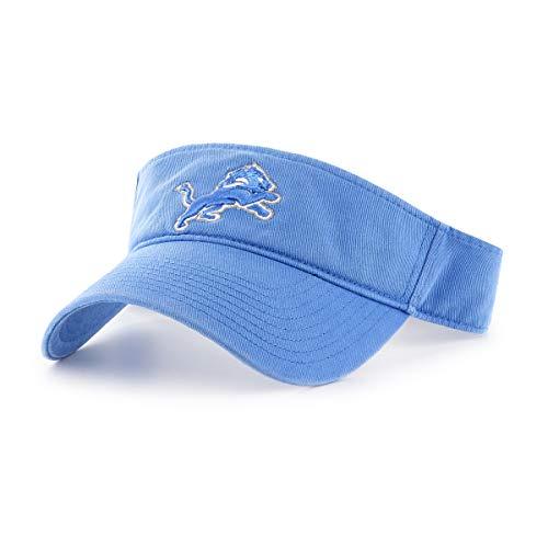 OTS NFL Detroit Lions Male Visor, Blue Raz, One (Detroit Lions Store)