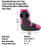 Superior Braces Low Top, Low Profile Air Pump CAM