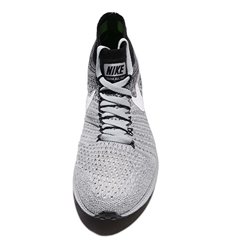 Nike Womens Zoome Ut Flyknit Joggesko Grå / Hvit / Svart