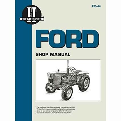 All States Ag Parts I&T Shop Manual Ford 1700 1700 1300 1300 2100 2100 on