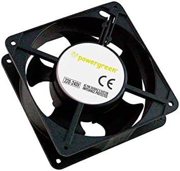 powergreen RAC-00002-ST - Ventilador para Armario Rack, 12 cm: Amazon.es: Informática