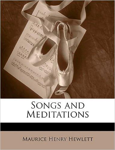 Read online Songs and Meditations PDF, azw (Kindle), ePub