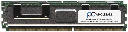 (IBM - Memory - 2 GB - FB-DIMM 240-pin - DDR II - 667 MHz / PC2-5300 - CL5 - Fully buffered - ECC Chipkill - LENOVO P/N 45J6192 - FRU 39M5784 (1 GB) )