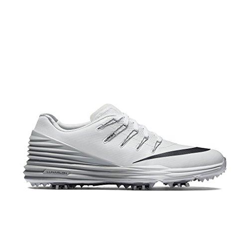 Nike Lunar Control 4 Golf Shoes 2016 Women White/Wolf Grey/Black Medium 8