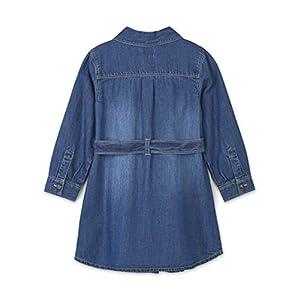 Hatley Girl's Denim Belted Dress
