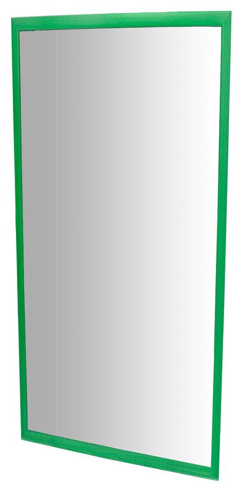 Specchio per Bambini con Cornice plastica Henbea 120/x 65/cm di Colore Verde