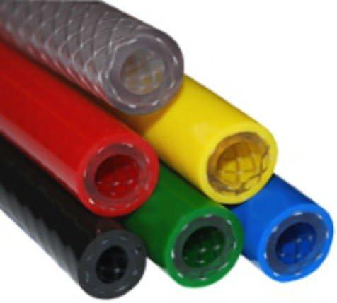 /12,5/mm I//D x 18,5/mm o//D x 3.0/mm pared /1//2// Reforzada con PVC trenzado manguera de calidad alimentaria/