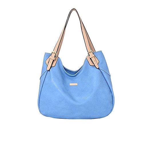 Hautefordiva , Damen Tote-Tasche hellblau Large hellblau