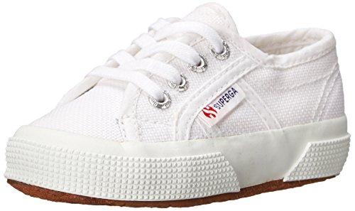 Superga Kids Unisex 2750 JCOT Classic (Toddler/Little Kid) White Sneaker 22 (US 6.5 Toddler) M ()