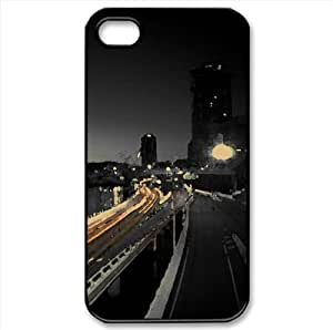 Light Traces Watercolor style Cover iPhone 4 and 4S Case