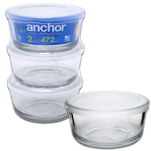 ANCHOR HOCKING PC ROUND CLEAR