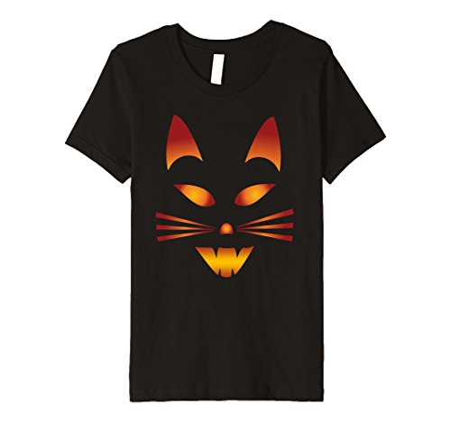 Pumpkin Face Cat Shirt