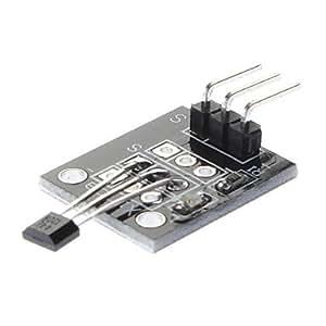 Arduino Hall Effect Magnetic Sensor Module (DC 5V) - Black