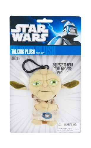 Joy Toy - Star Wars Plush Keychain with Sound Yoda 10 cm