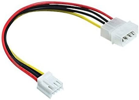 Floppy 4pin ma//fe 0,22m Molex 4pin DeLOCK 83184 Warranty: 1Y