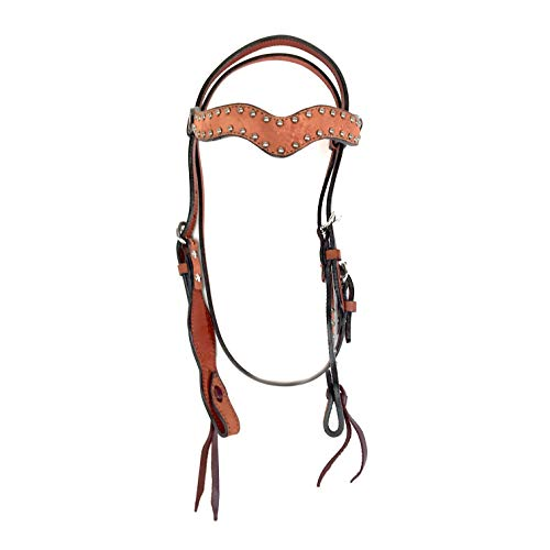 - Alamo Saddlery LLC Rancher Supply- 'Elite One Ear Headstall 1/2 Slip Ear'