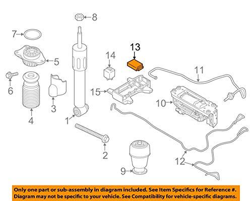 BMW 37 14 6 860 385, Electronic Suspension Control Module