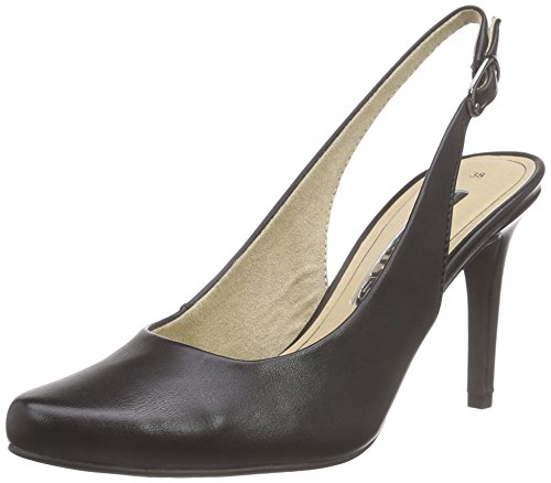 Tamaris 29609, Damen Slingback Pumps, Schwarz (BLACK MATT 015), 40 EU