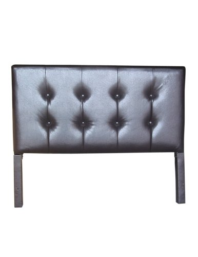 4D Concepts Rectangular Shaped Headboard, Brown - 4d Concepts Furniture