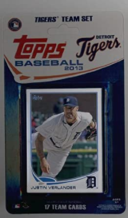 2013 Topps Team Edition Detroit Tigers Factory Sealed Baseball Cards Team Set 17 Cards