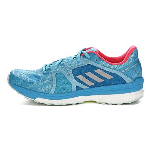 adidas Supernova Sequence 9, Zapatillas de Running para Mujer vapour blue f16-matte silber-craft blue f16