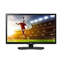 LG 20MT48DF - TV Monitor 19.5'' LED HD, D-sub, HDMI, USB, negro