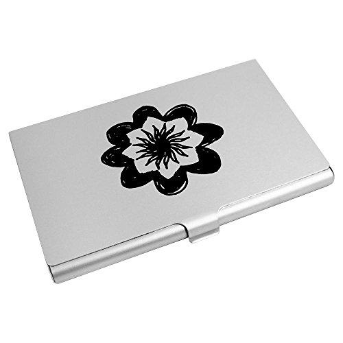 'Open Card Business Card Flower' Credit CH00011679 Wallet Holder Azeeda 4xqZBwSZ