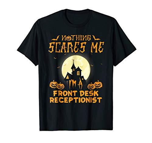 Front Desk Receptionist Easy Halloween Costume shirt -