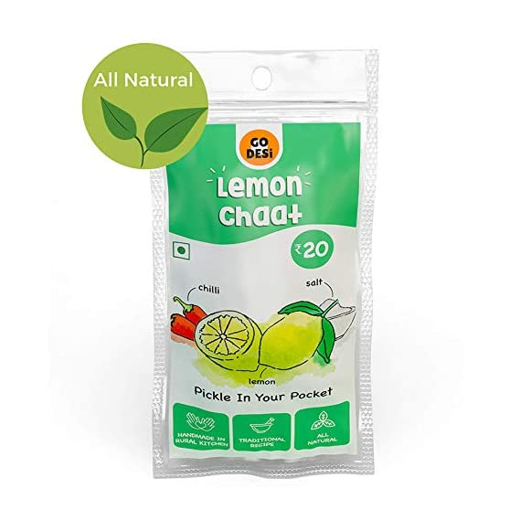 Go Desi Lemon Chaat (Pack of 8)