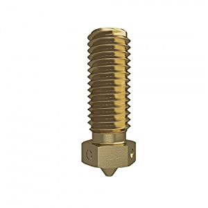 Genuine E3D Brass Volcano Nozzle - 1.75mm x 0.80mm (VOLCANO-NOZZLE-175-0800) from E3D