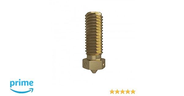 E3D Volcano Brass Nozzle Triple Pack 1.75mm, 0.8mm