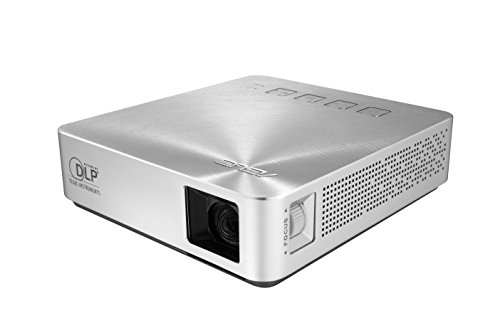 ASUS S1 200 lumen HDMI/MHL Built-in 6,000mAh Battery Power Bank Short-Throw LED Pocket Projector by Asus